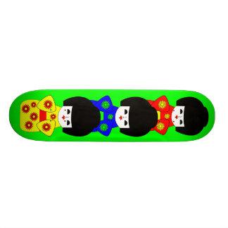 Japanese Dolls Skate Board