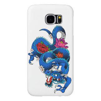 Japanese dragon samsung galaxy s6 cases