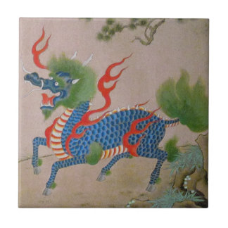 Japanese Dragon Tile