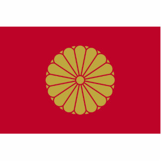 Japanese Emperor, Japan flag Photo Cut Out