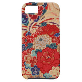 Japanese fabric iPhone 5 Case-Mate Case