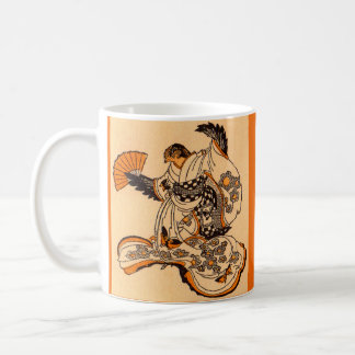 Japanese fairytale The Tongue Cut Sparrow Coffee Mug