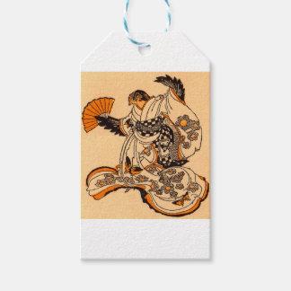 Japanese fairytale The Tongue Cut Sparrow Gift Tags
