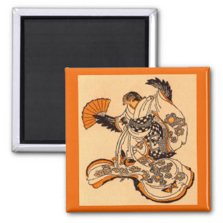 Japanese fairytale The Tongue Cut Sparrow Magnet