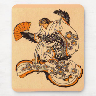 Japanese fairytale The Tongue Cut Sparrow Mouse Pad