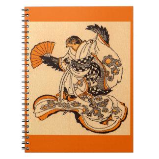 Japanese fairytale The Tongue Cut Sparrow Notebooks
