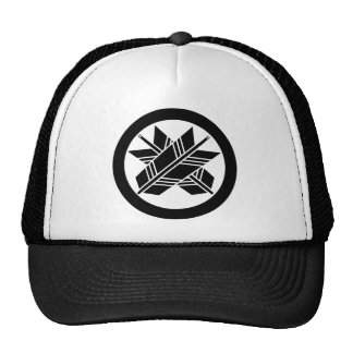 Japanese Family Crest KAMON Symbol Cap