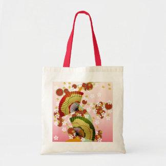 Japanese Fan 3 Canvas Bag