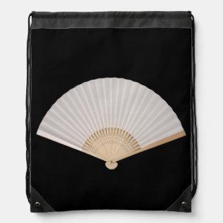 Japanese Fan Drawstring Backpack