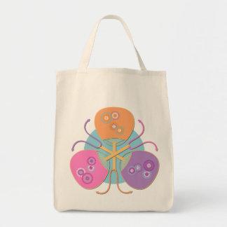 Japanese fans (pastel colours) bag