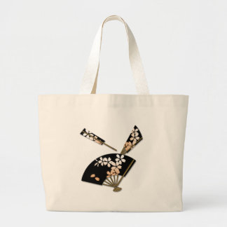 Japanese Fans Tote Bags