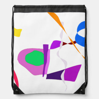 Japanese Festival Drawstring Bag