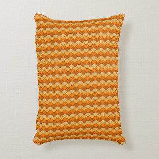 Japanese Fish Scale Pattern Decorative Cushion
