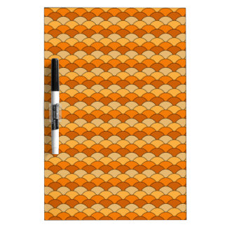 Japanese Fish Scale Pattern Dry-Erase Board