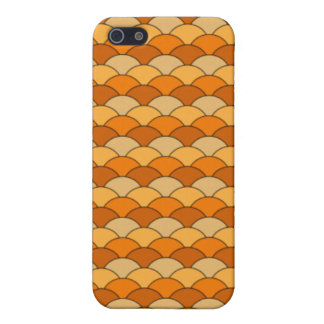 Japanese Fish Scale Pattern iPhone 5/5S Cases