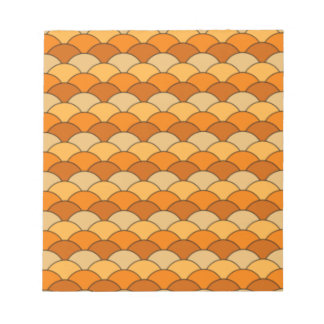 Japanese Fish Scale Pattern Notepads