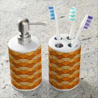 Japanese Fish Scale Pattern Toothbrush Holders