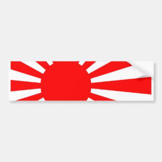 Japanese flag bumper sticker