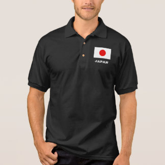 Japanese flag custom polo shirt for men and women