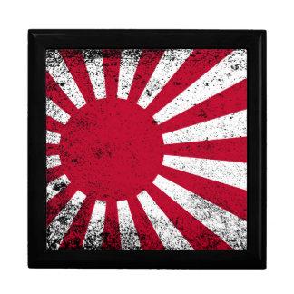 Japanese Flag Large Square Gift Box