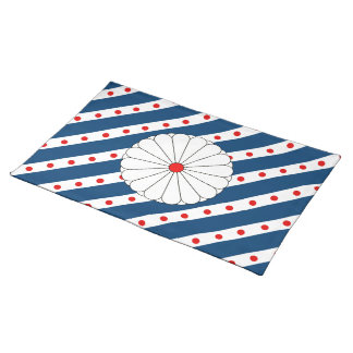 Japanese flag placemat