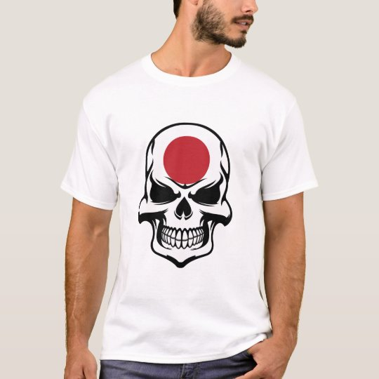 Japanese Flag Skull T-Shirt