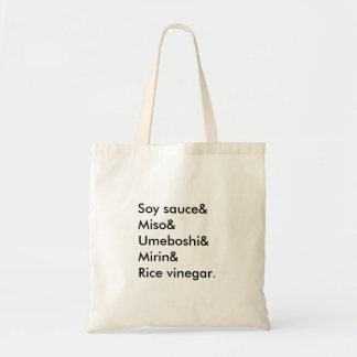 Japanese Flavours Tote