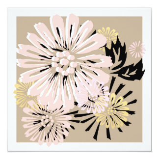 Japanese Floral Card