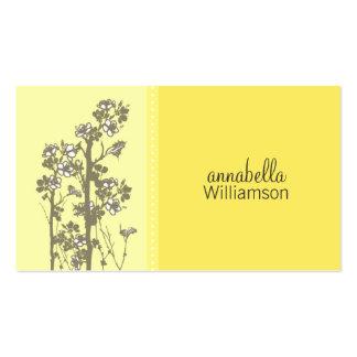 Japanese Floral Sunshine Business Card