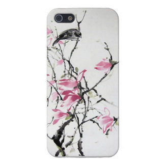japanese flowers and bird iphone case iPhone 5 cases