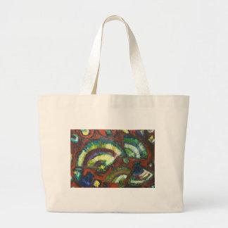 Japanese Folding Fans New Japonism Canvas Bags