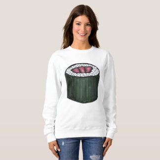 Japanese Food Spicy Tuna Sushi Roll Foodie Sweatshirt