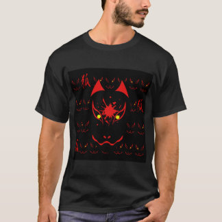 "JAPANESE FOX MASK ""DARK"" T-Shirt"