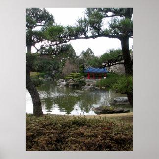 Japanese Garden-02 Poster