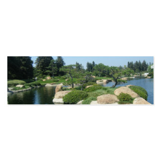 Japanese Garden Bookmark Pack Of Skinny Business Cards