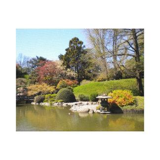 Japanese Garden Canvas Canvas Prints