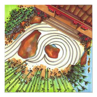Japanese Garden Card