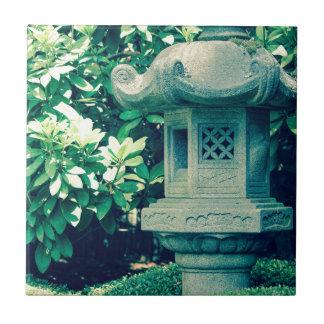 japanese garden crossprocessstatue tile