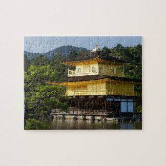 Japanese Garden, Kinkaku-ji Temple, Kyoto, Japan Puzzles