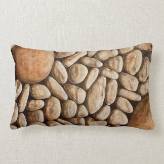 Japanese garden lumbar cushion