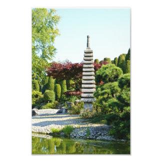 Japanese Garden Photo Print