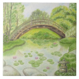 Japanese Garden wall tile