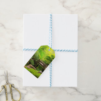 Japanese Garden - Water under the bridge Gift Tags