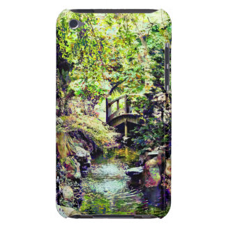 Japanese Garden With Bridge and Stream Barely There iPod Cover
