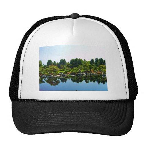 Japanese Gardens at the Denver Botanical Gardens. Trucker Hats