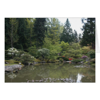 Japanese Gardens Card