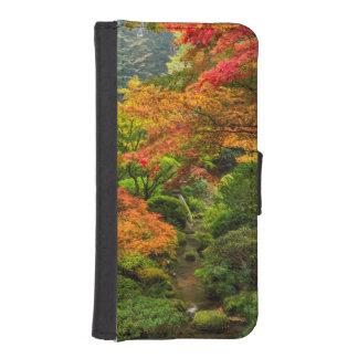 Japanese Gardens In Autumn In Portland, Oregon 2