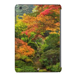 Japanese Gardens In Autumn In Portland, Oregon 2 iPad Mini Cover