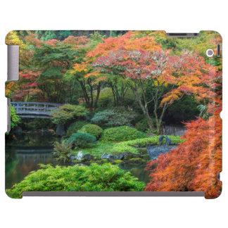 Japanese Gardens In Autumn In Portland, Oregon 3