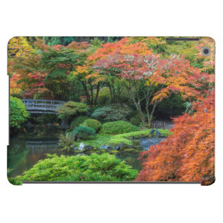 Japanese Gardens In Autumn In Portland, Oregon 3 Case For iPad Air